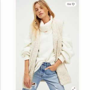 Free People Great Escape Teddy Vest